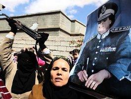 Rückeroberung Bani Walids durch Anhänger Gaddafis; Foto: dpa