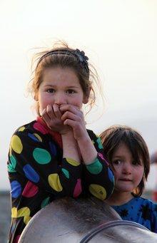 Mädchen in Kabul; Foto: Marian Brehmer