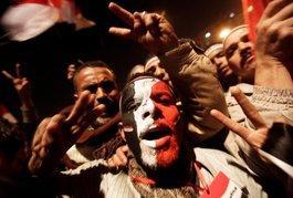 Demonstration von Mubarak-Gegnern in Kairo; Foto: dpa