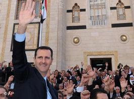 Präsident Baschar al-Assad; Foto: AP Photo/SANA