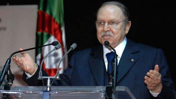 Der amtierende algerische Staatspräsident Abdelaziz Bouteflika, Foto: AP/Sidali Djarboub