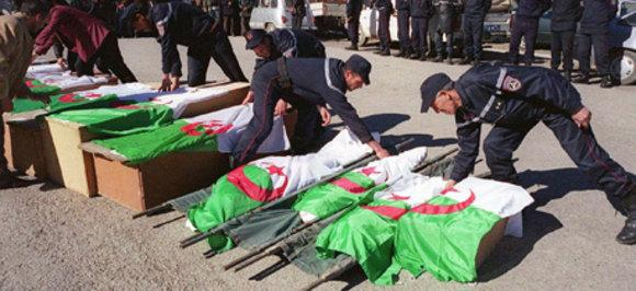 Massaker der GIA in Algerien; Foto: dpa