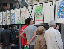 Wahlplakate in Algier; Foto: Marlyn Touma