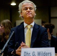Geert Wilders; Foto: AP Photo/Robin Utrecht