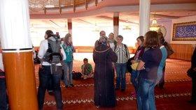 Führung in der Yavus Sultan Selim Moschee; Foto: DW