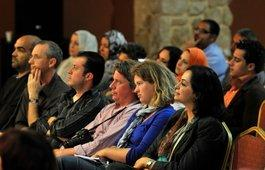 Zuhörer bei einem Konzert Barenboims in Gaza; Foto: © Shareen Sarhan / UNRWA