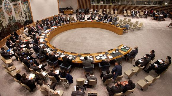Tagung des UN-Sicherheitsrates; Foto: Reuters