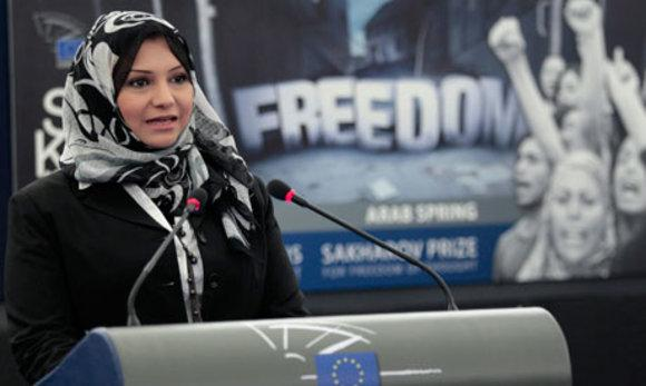 Asmaa Mahfouz; Foto: Reuters