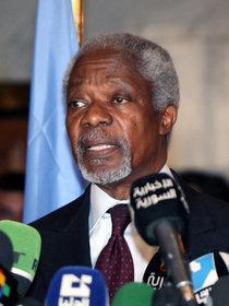 Kofi Annan; Foto: dpa