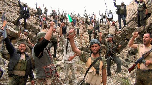 Einheiten der Freien Syrischen Armee in Deraa; Foto: Reuters