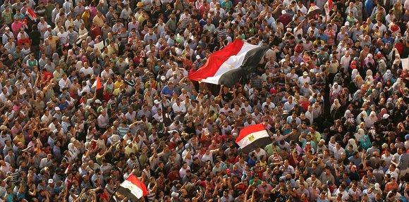Demonstration auf dem Tahrirplatz; Foto: Reuters