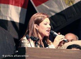 Bouthaina Kamel; Foto: dpa