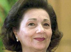 Suzanne Mubarak; Foto: AP