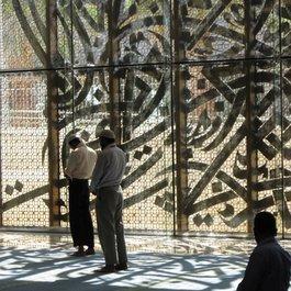 Gebetssaal der Moschee auf dem Campus der König-Abdullah-Universität; Foto: © Nja Mahdaoui