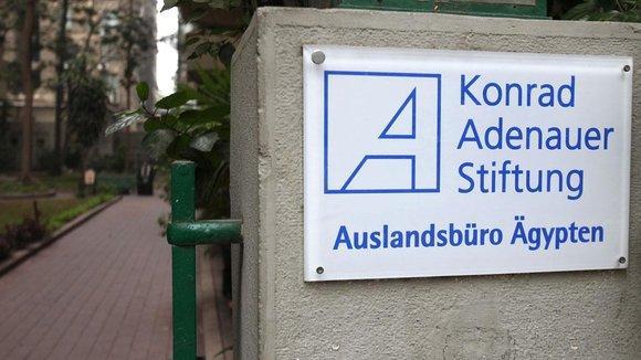 Die Konrad Adenauer Stiftung; Foto: picture-alliance/dpa