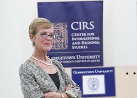 Miriam Cooke; Foto: Georgetown University