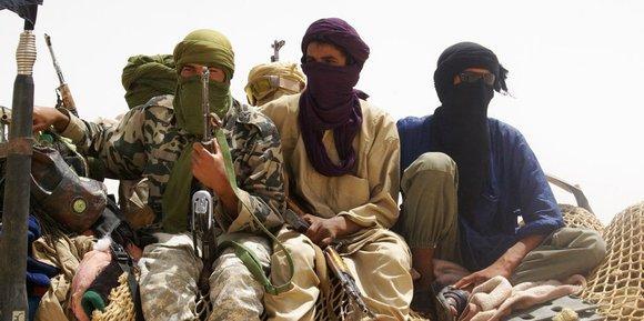 Kämpfer der islamistischen Gruppe Ansar Dine; Foto:AP/dapd
