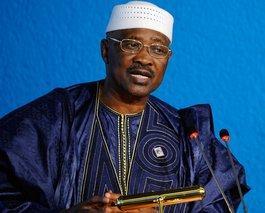 Amadou Toumani Touré; Foto: picture-alliance/dpa
