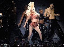 Konzert Lady Gagas, Foto: dapd