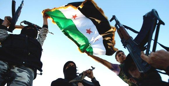 Free Syrian Army members in Idlib (photo: AP/ dapd)