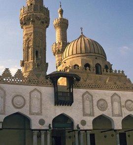 Al-Azhar Moschee in Kairo; Foto: picture alliance/Arco Images GmbH