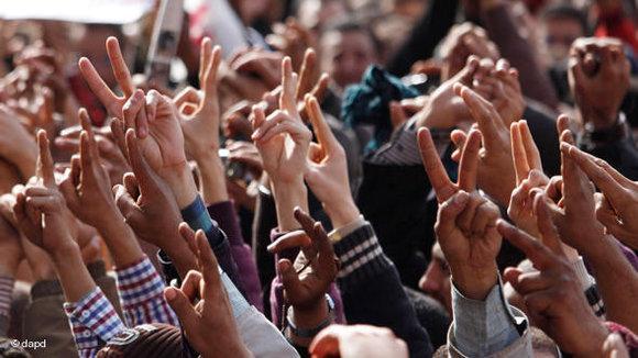 Demonstration auf dem Tahrirplatz am 4. Februar 2011; Foto: Emilio Morenatti/AP/dapd