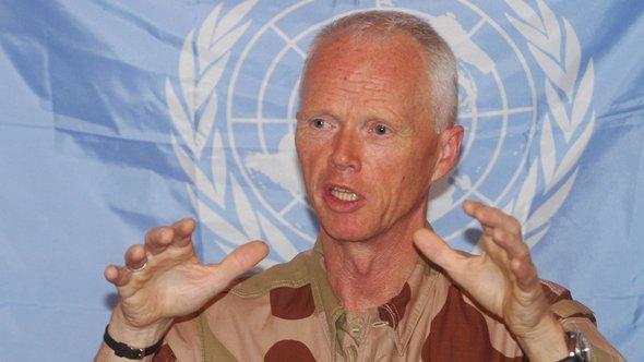 Der Leiter der UN-Beobachtermission, Robert Mood; Foto: AP/dapd