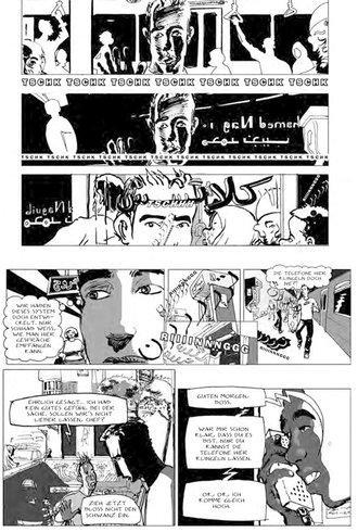 Szene aus Magdy El-Shafees Comic Metro; Foto: © Edition Moderne