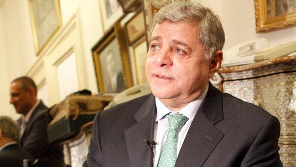 Früherer jordanischer Ministerpräsident Awn Khasawneh; Foto: AP