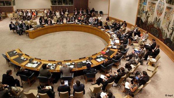 UNO-Sicherheitsrat; Foto: dapd