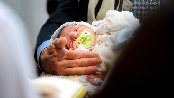 Beschneidungszeremonie in San Francisco; Foto: AP