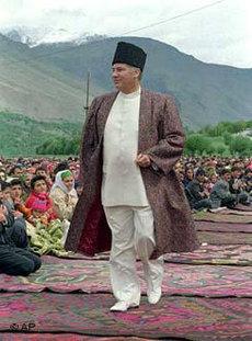 Religiöses Oberhaupt Agha Khan, Foto:AP
