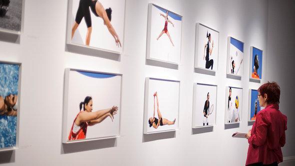 Ausstellung zu Frauen bei der Olympiade, Foto: Ben Pruchnie/Getty Images For Sotheby's