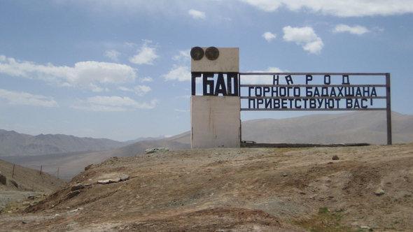 Grenze zum Gebiet Berg-Badachschan, Foto:cc-by-sa/Al-Musafir