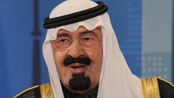 Der saudische König Abdullah Abdul-Aziz in Toronto, Foto:picture-alliance/ZB