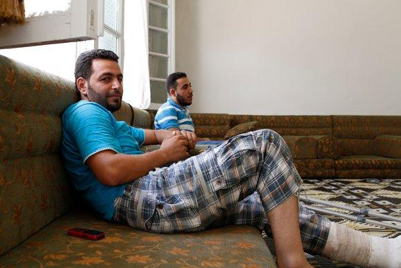 FSA-Kommandant Abu Ali; Foto: Joshua Archer