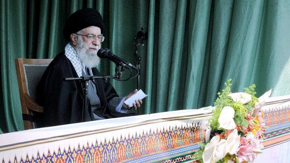 Irans Revolutionsführer Ali Khamenei; Foto: Khamenei.ir