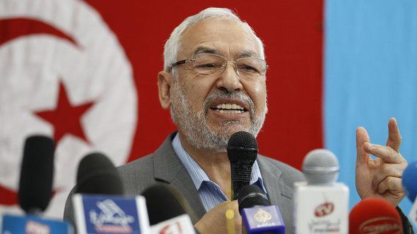 Rachid Ghannouchi von der an-Nahda-Partei in Tunesien, Foto: Reuters