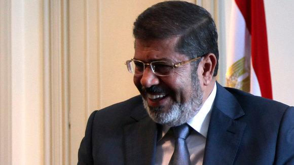 Ägyptens Präsident Mursi; Foto: Reuters