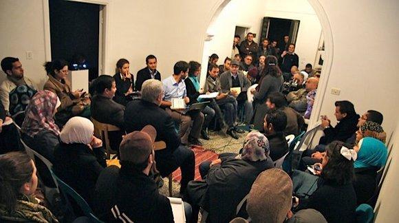 Hashtag-Debatte der Gruppe 7iber.com; Quelle: Facbook-Gruppe der Internet-Plattform 7iber