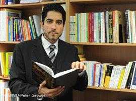 Prof. Mouhanad Khorchide, Lehrstuhl für Islamische Religionspädagogik der Universität Münster; Foto: WWU-Peter Grewer