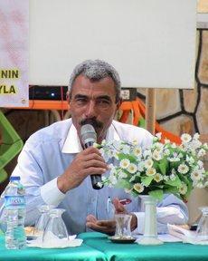 Mustafa Olpak auf dem Kalbsfest 2011, Foto: Ekrem Güzeldere