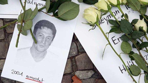 Trauerveranstaltung für die Opfer der Zwickauer Terrorzelle; Foto: dapd
