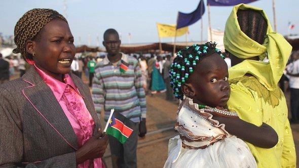 Unabhängigkeitsfeiern in Juba am 9. Juli 2011, Foto: dapd