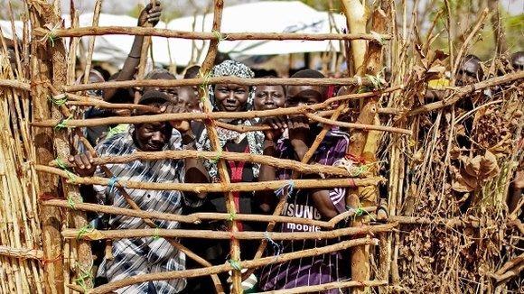 Yida-Flüchtlingscamp in Süd-Kordofan; Foto: AP