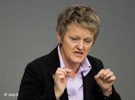 Grünen-Fraktionschefin Renate Künast, Foto: dapd