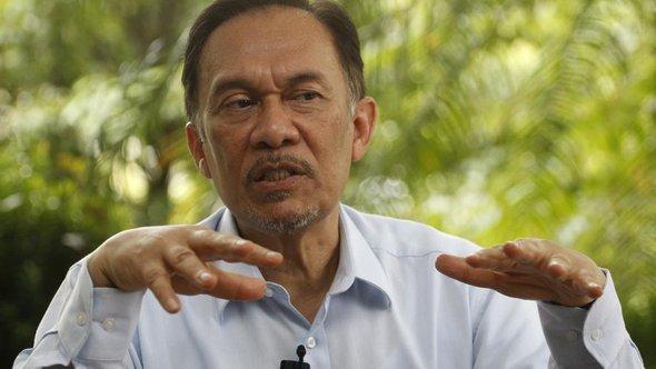 Anwar Ibrahim; Foto: dapd