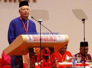 former prime minister Najib Razak (photo: AP)