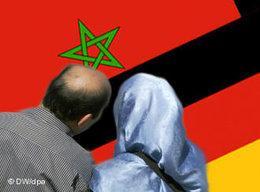 Symbolbild Migration aus Marokko, Foto: DW/dpa