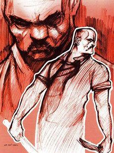 El-Doshma-Cover, Zeichnung: Ahmed Omar